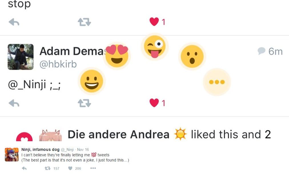 Emoticonos en Twitter 2