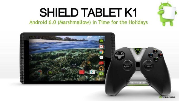 Nvidia Shield Tablet K1, la tablet de juegos baja su precio