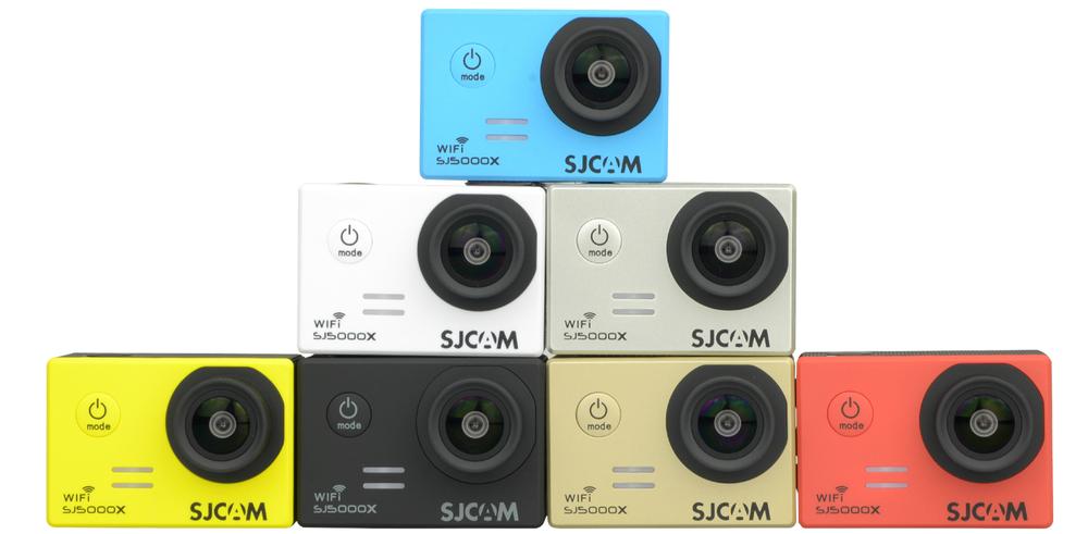 Como la mayoría de las SJCAM, la SJ5000X Elite está disponible en 7 colores.