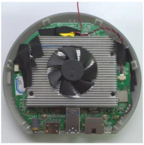 El Meegopad T04 cuenta con un buen sistema de refrigeración lo que le hace perfecto para estar mucho tiempo encendido.