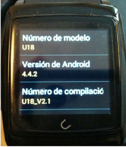 gizlogic-uwatch-u18-andoid