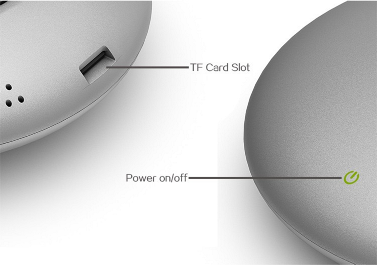 El botón de encendido táctil y el puerto MicroSD son los únicos detalles que encontramos en la parte superior del Meegopad T04