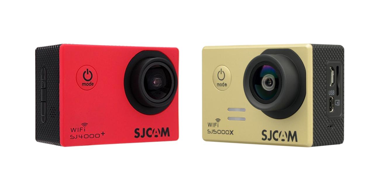 La SJ5000X es la sucesora de la SJ4000 Plus, por eso comparten tantas características.