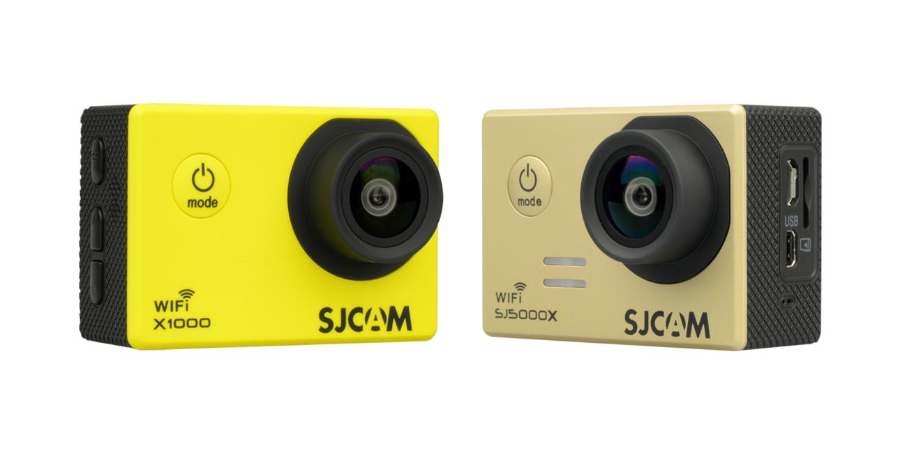 La SJ5000X y la SJCAM X1000 están disponibles de forma limitada.