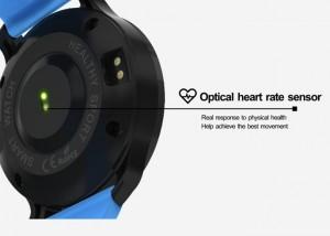 Con el sensor de ritmo cardíaco que funciona las 24h, el F68 tendrá siempre datos
