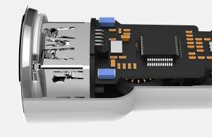 Sus medidas de seguridad hacen del Xiaomi Roidmi un cargador fiable y seguro.