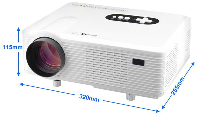 gizlogic- Excelvan CL720D -dimensiones