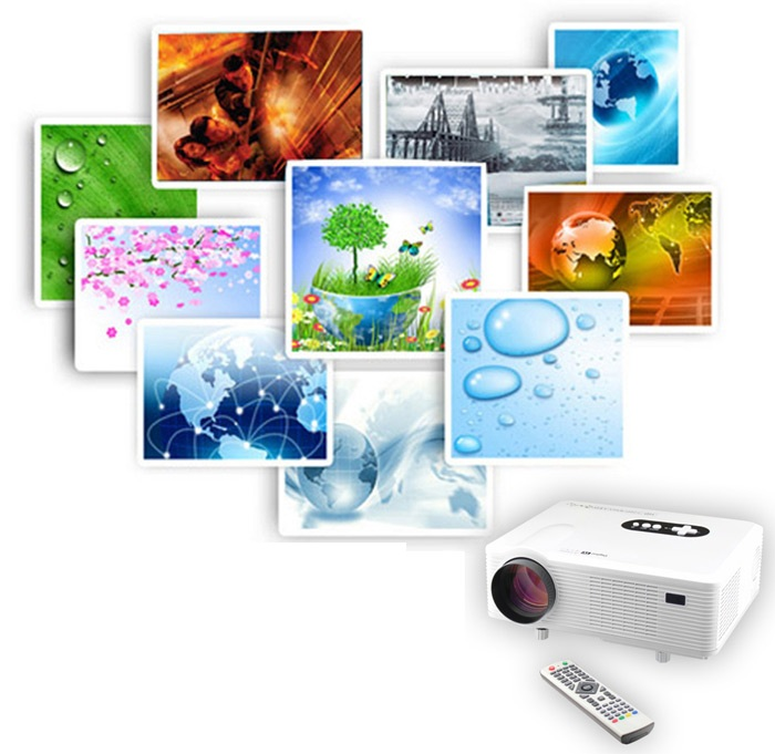 gizlogic- Excelvan CL720D -proyector