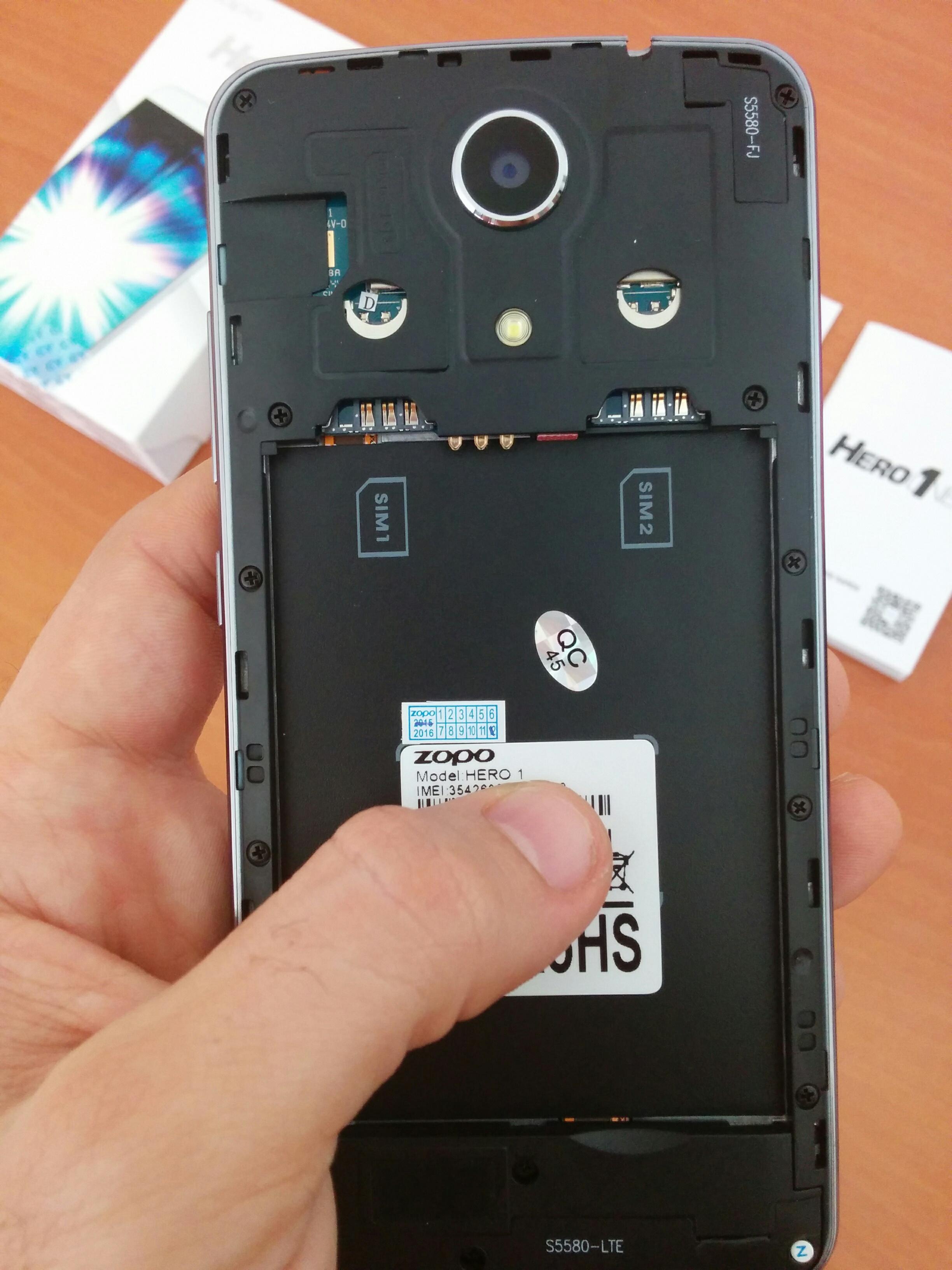 El Zopo Hero es un smartphone 4G con DualSim