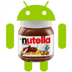 Uno de los nombres que más se baraja para este Android N es Nutella.