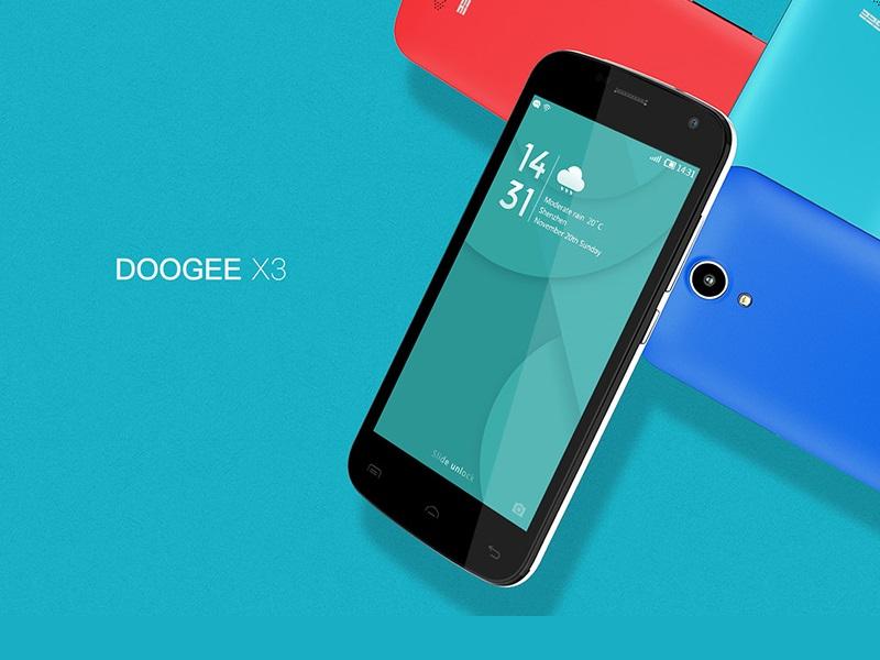 Doogee X3