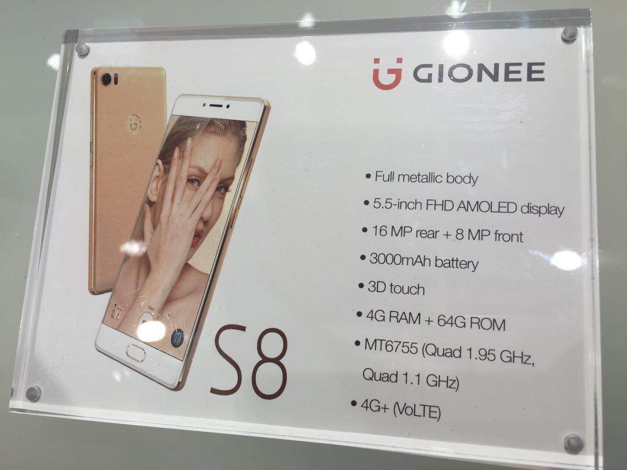 Gionee S8 gizlogic 3