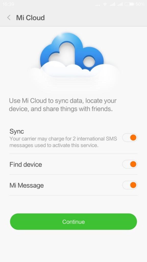 Gizlogic_ Xiaomi Redmi Note 3_ Mi cloud