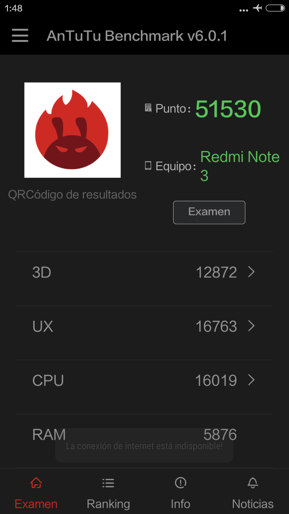 Gizlogic_Antutu 6-0_Redmi Note 3