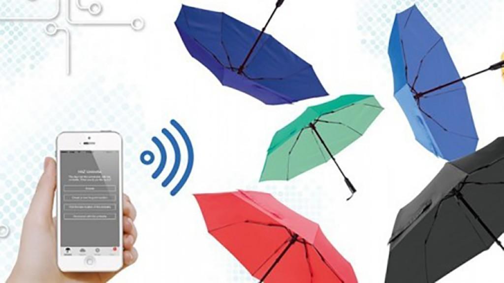 Paraguas inteligente