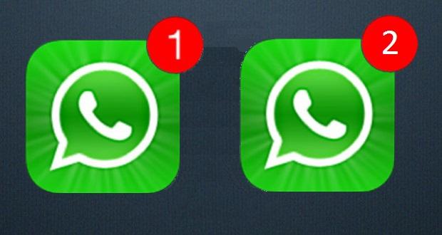 como utilizar dos cuentas de WhatsApp
