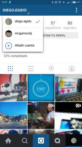 Los menús de la app de Instagram sufrirán un pequeño cambio si tenemos más de una cuenta.