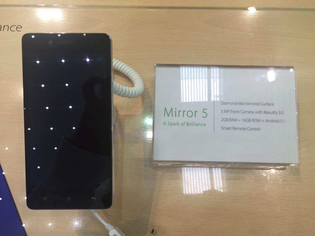 Mwc16 Oppo F1 Y Mirror 5 Smartphones Para Todos 16gb Espejito