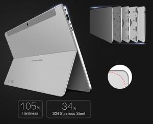 La Jumper EZpad 5s en cuerpo de aluminio tan bonito como resistente.