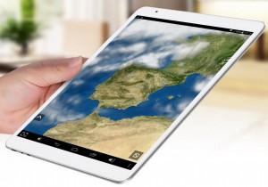 La Teclast X98 Plus 3G es una tablet realmente delgada con solo 7.8mm de grosor.