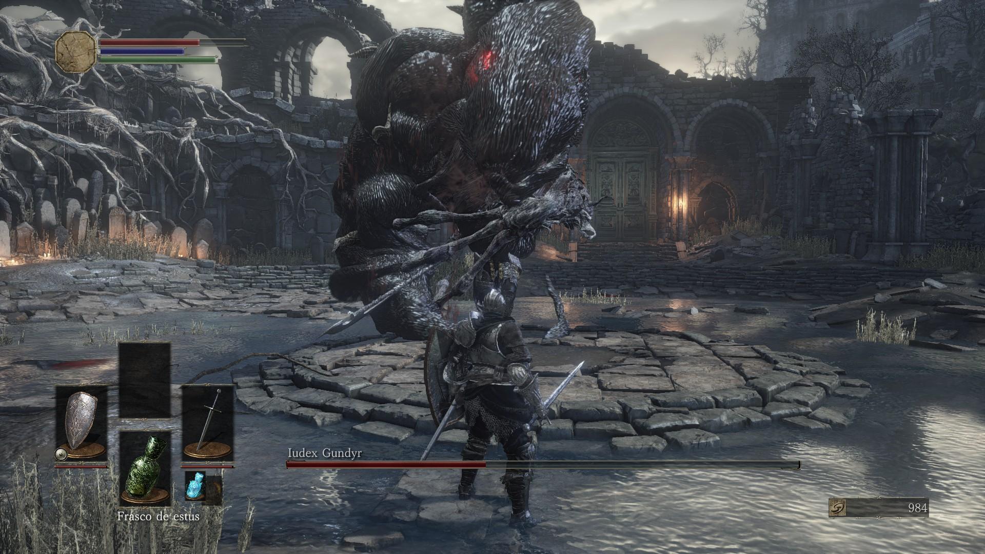 Cuando crees que el juego es difícil, Dark Souls 3 consigue darte una lección de humildad aumentando la dificultad.