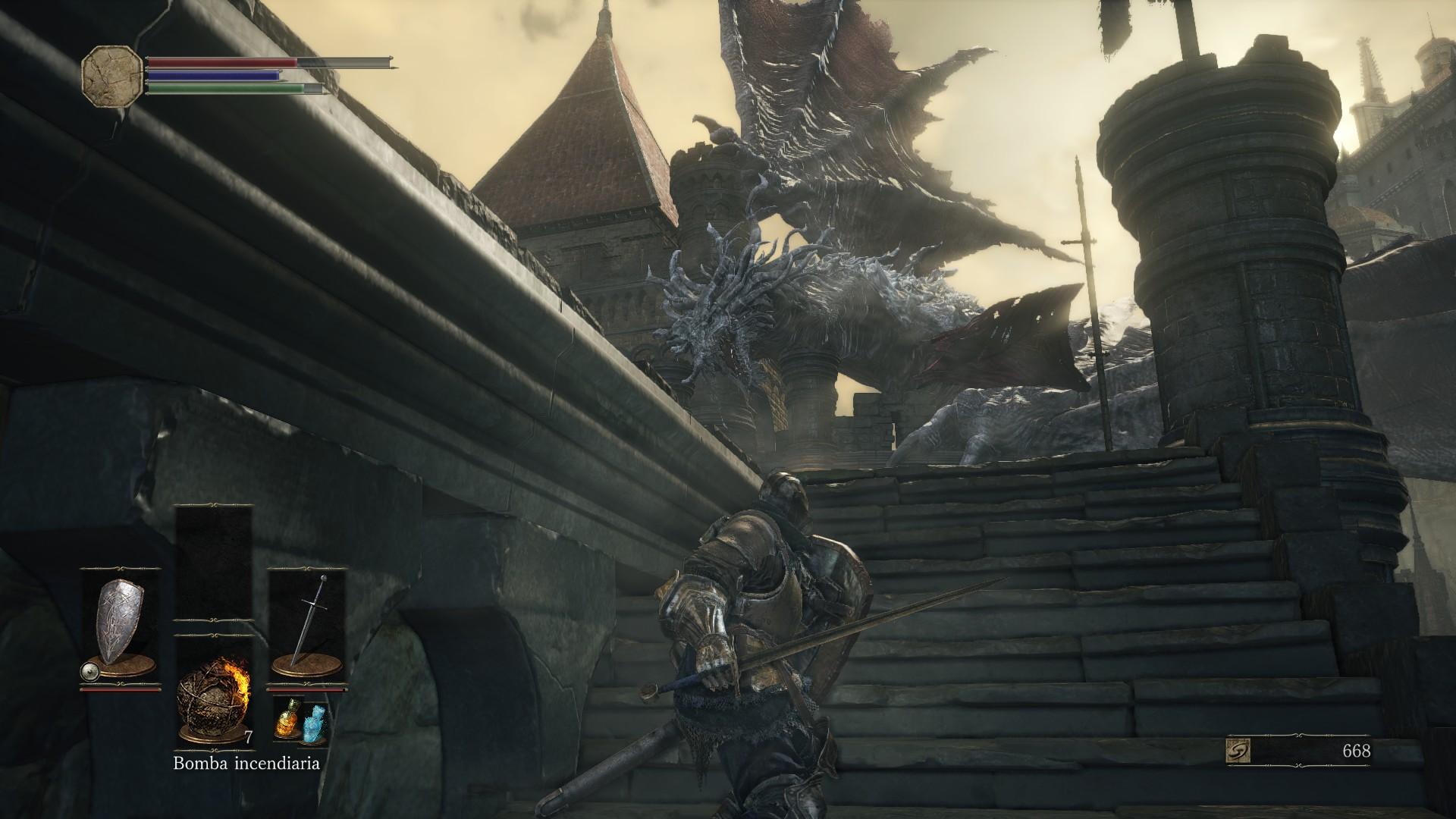 El hombre contra las bestias, esta es la esencia del Dark Souls 3.