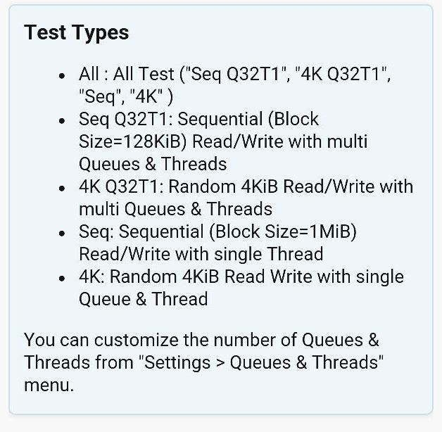 Test de tarjetas Micro-SD