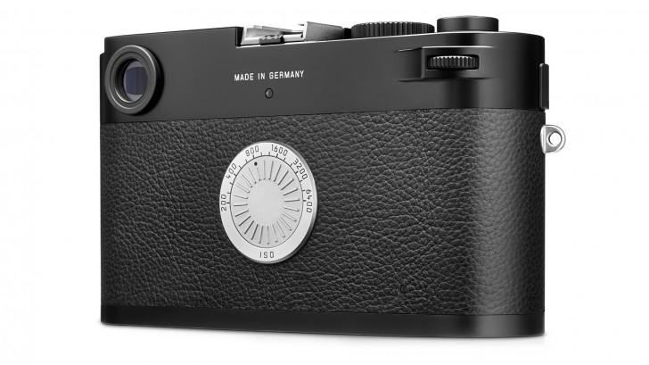 En lugar de una pantalla, la Leica M-D cuenta con un dial para seleccionar el ISO.