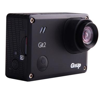 La lenta de la versión de 72/90º de la GitUp Git2 es ligeramente más grande que el de la original.