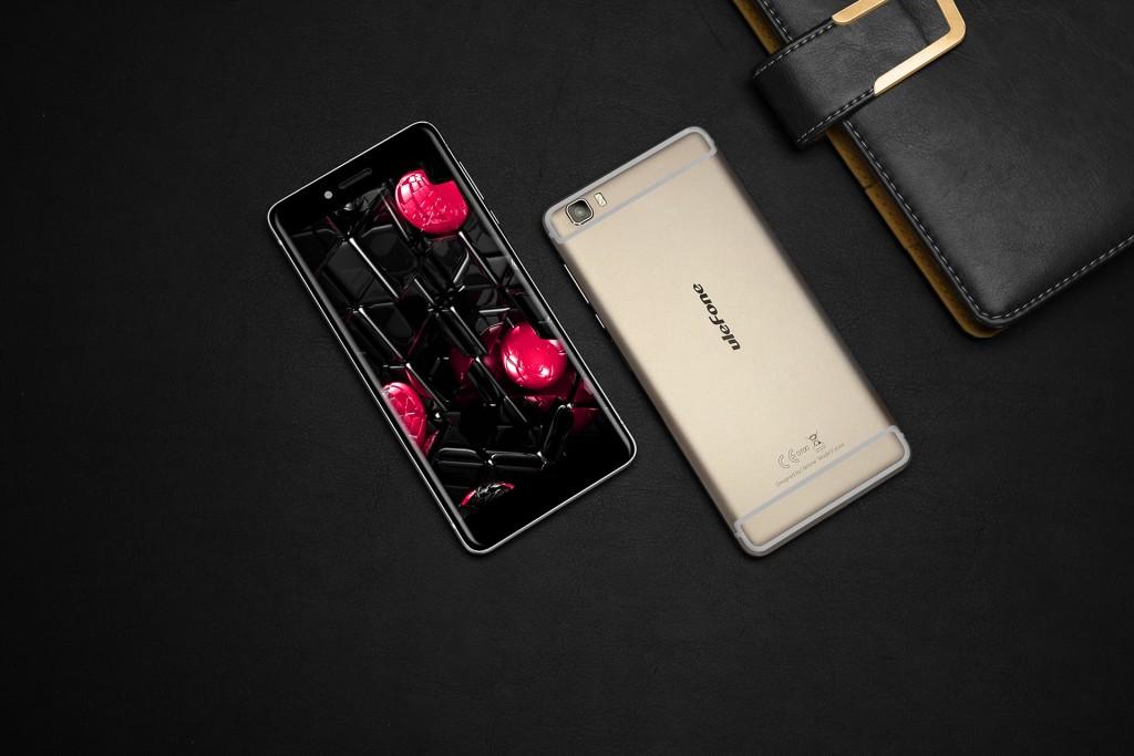 Pese a ser similar al del iPhone, el diseño del Ulefone Future es bastante elegante.