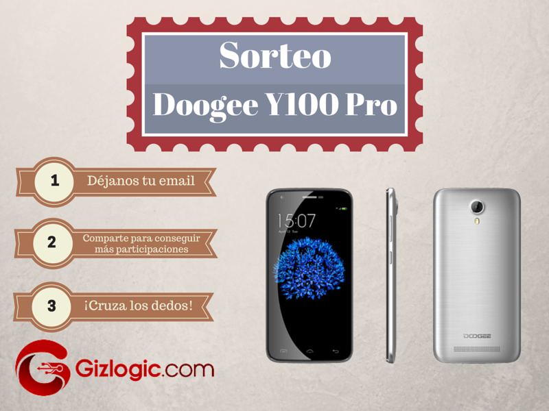 Sorteo Gizlogic Doogee Y100 Pro