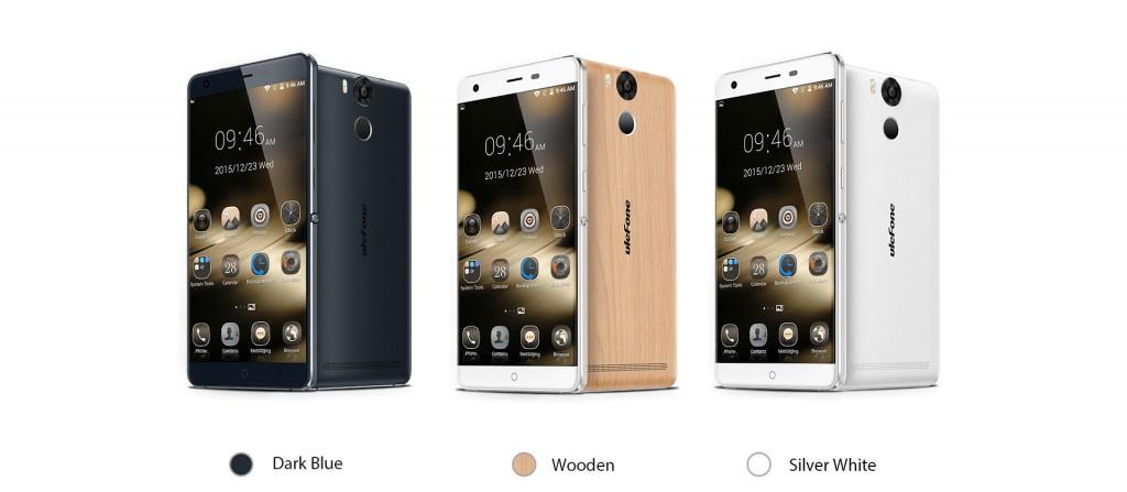 El Ulefone Power está disponible en tres colores, mientras que el Ulefone Future en 2.