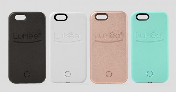 7a031354a0e Algunos de los colores disponibles para las fundas LuMee con luz  incorporada para selfies