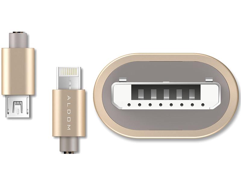ALDOM USB 2 en 1