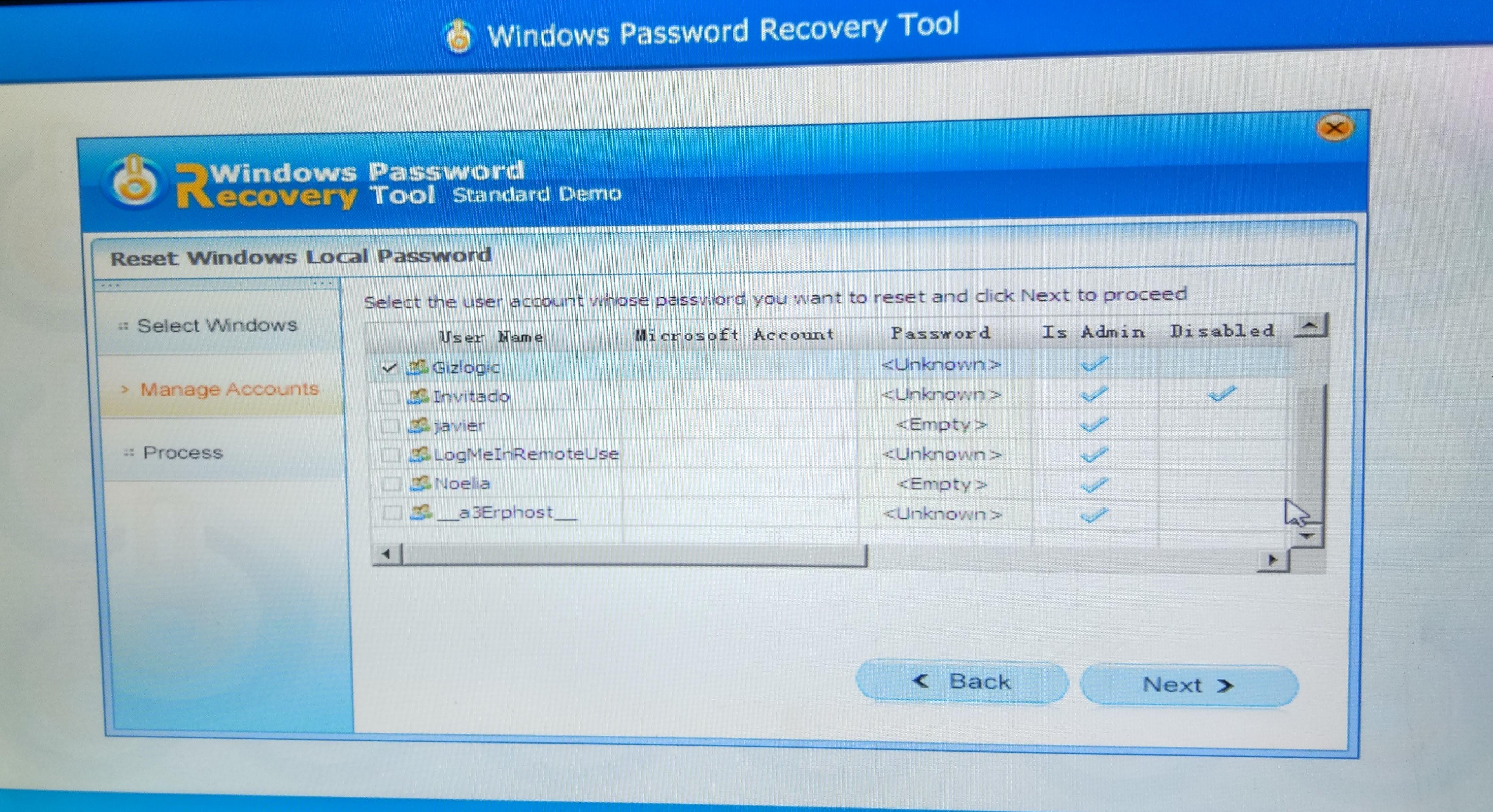 Paso 5 - Instalación Tenorshare Password Recovery