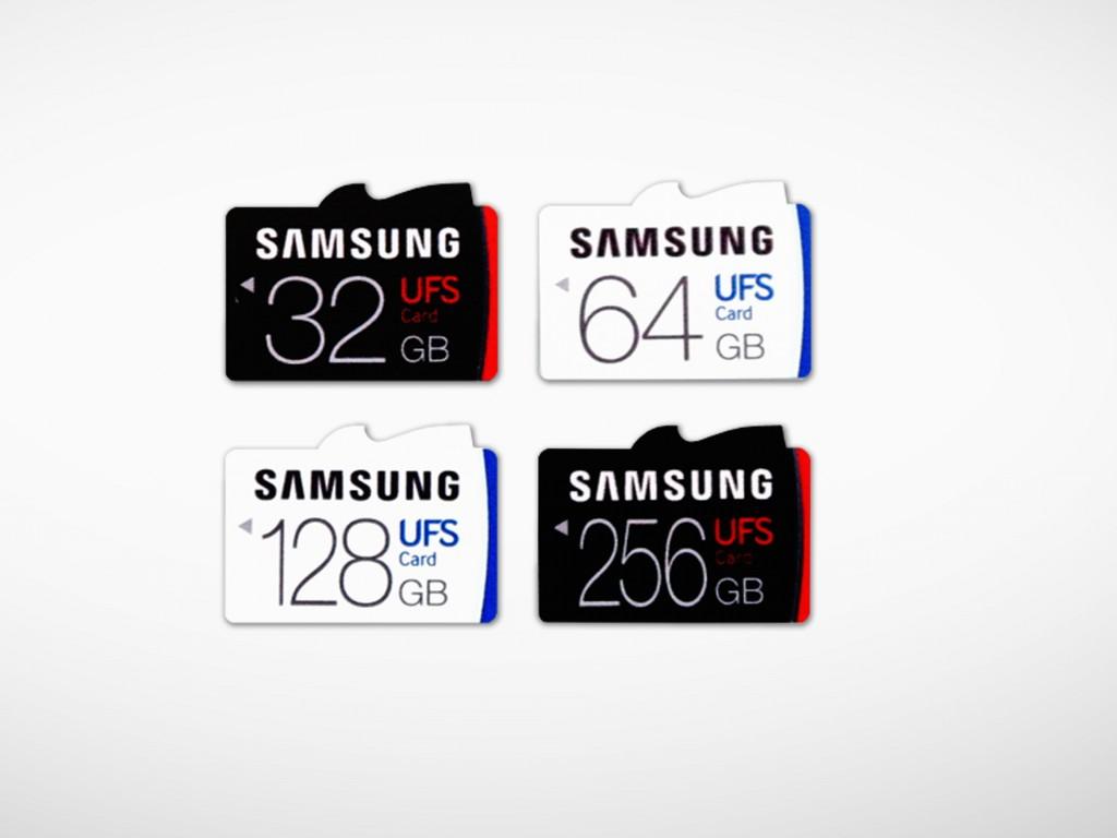 samsung- tarjetas de memoria-ufs