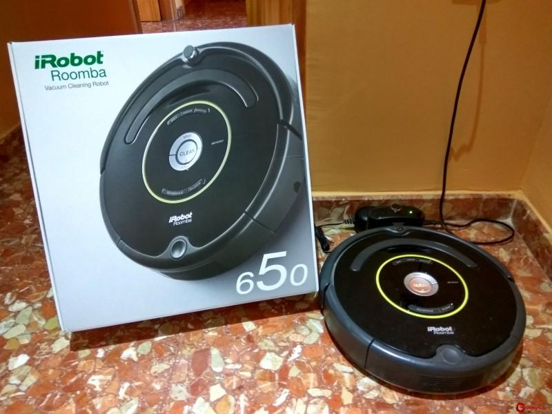 roomba 650 el modelo irobot especial para mascotas gizlogic. Black Bedroom Furniture Sets. Home Design Ideas