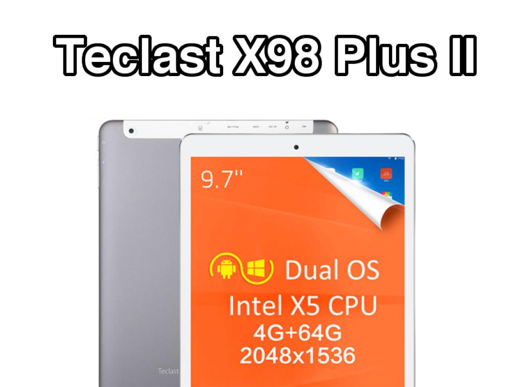 Teclast X98 Plus II Portada