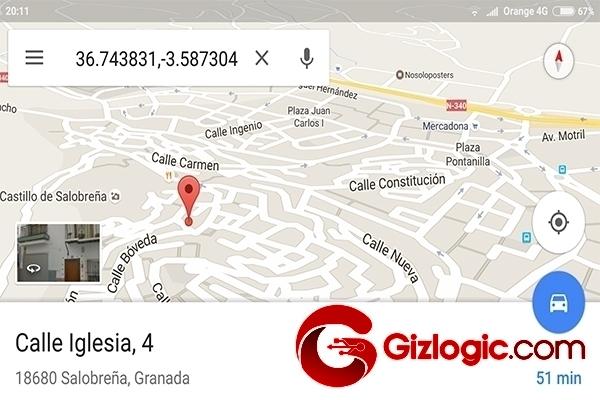 Vacaciones con Google Maps
