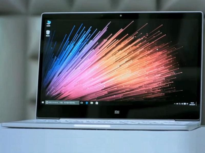 presentación del Xiaomi Mi Notebook Air.