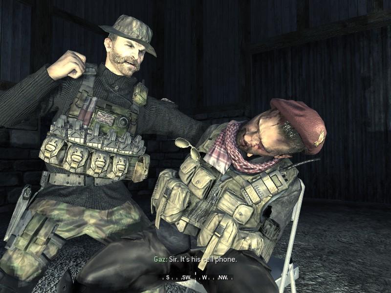 Capitán Price Call of Duty 4
