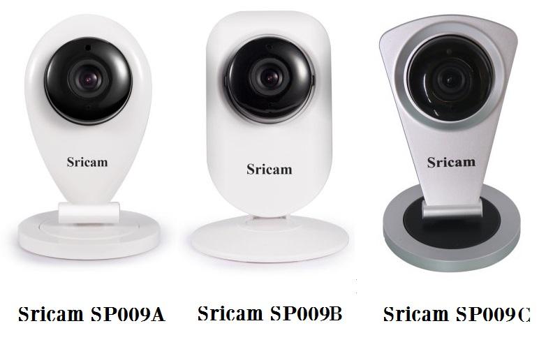 Sricam SP009A, SP009B y SP009C