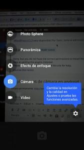 aplicaciones de camara en android