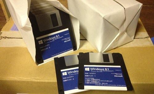 Floppy Disk windows 8.1