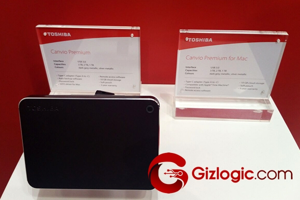 Almacenamiento Toshiba Canvio Premium