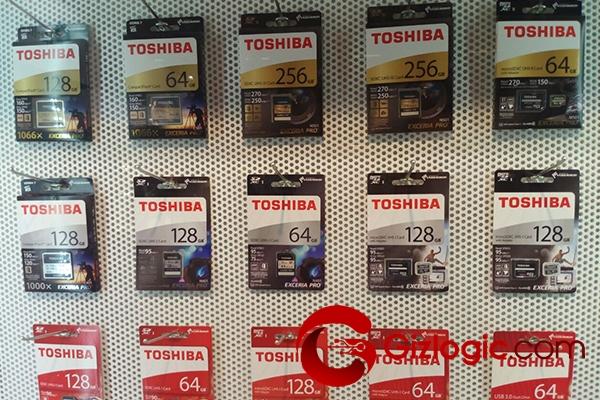 Almacenamiento de Toshiba SD