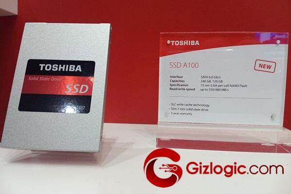 Almacenamiento de Toshiba SSD A100
