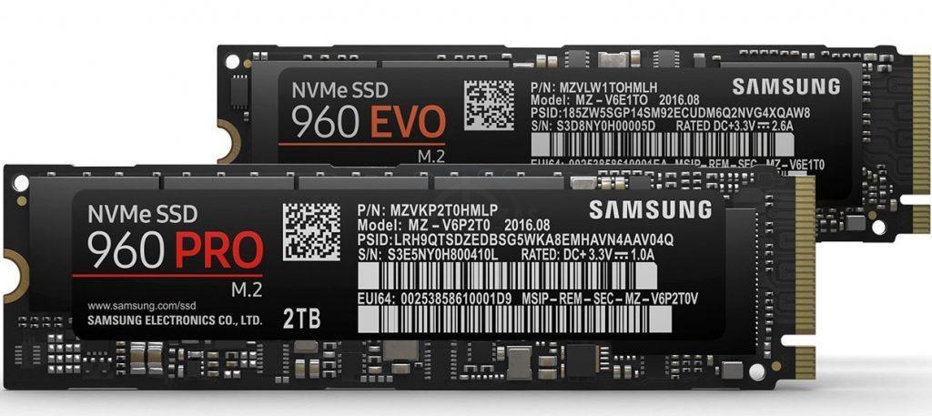Samsung 960 EVO-Samsung-960-PRO-M.2