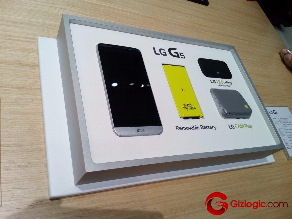 Módulos para el LG G5