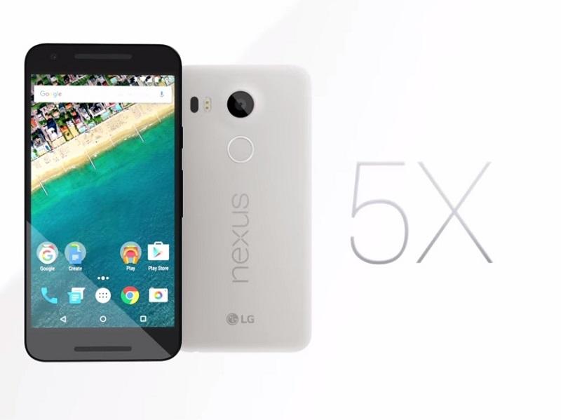problemas del Nexus 5X